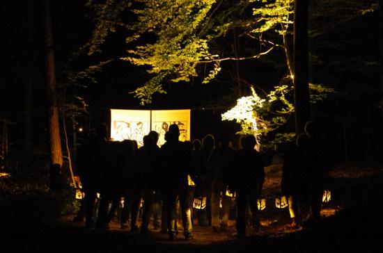 Besucher Schattenwald