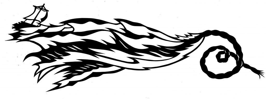 Floss der Medusa in Wellen jpg