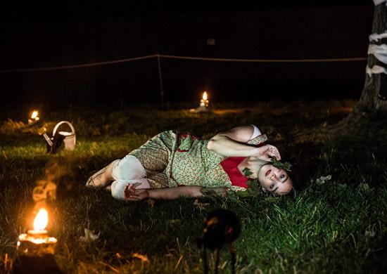 Cox Ahlers als Rosa in Ovids Traum von Theater Anu