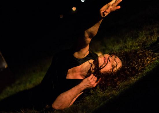 Jadi Carboni als Clymene in Ovids Traum von Theater Anu