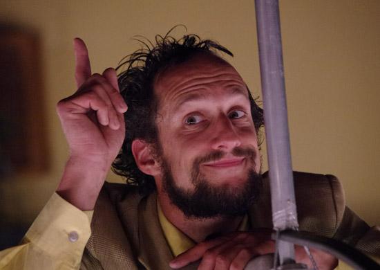 Markus Moiser als Wissenschaftler in Nachtmeerfahrt