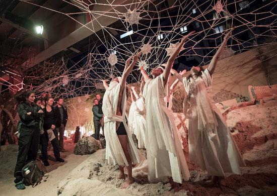 Urban Nation Biennale - Theater Anu - Nespoon